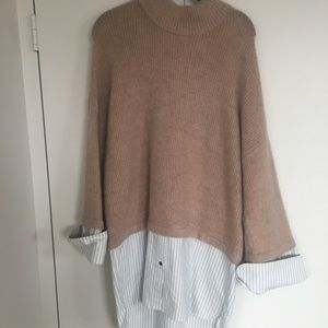 H&M Knit Button Down Sweater Dress
